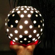 Focilabda lámpa