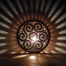 Csipke (kerek) lámpa