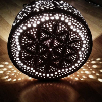 Mandala (round) lamp