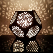 3D Flower of Life lamp